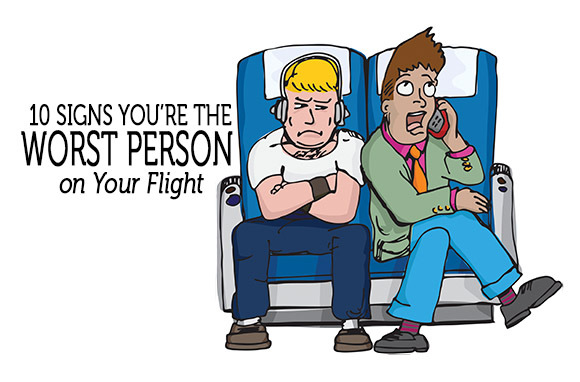 Signs You're Bad at Flying