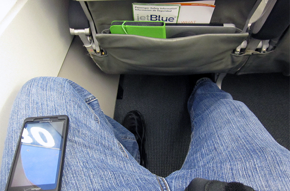Get Maximum Legroom in Economy by Flying JetBlue