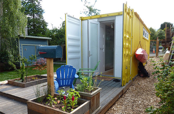 Shipping-Container Guesthouse, Seattle, Washington