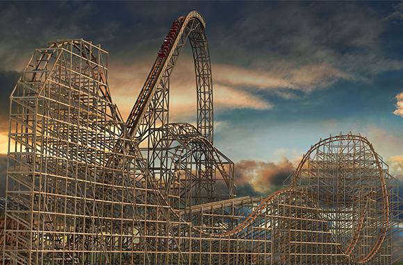 Goliath, Six Flags Great America, Gurnee, Illinois
