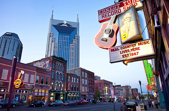 Country Music, Nashville, Tennessee