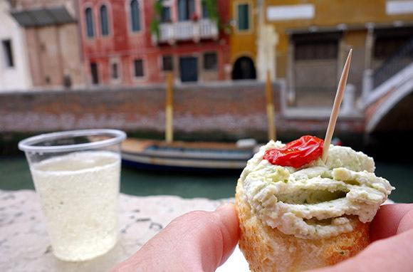 Cicchetti in Venice