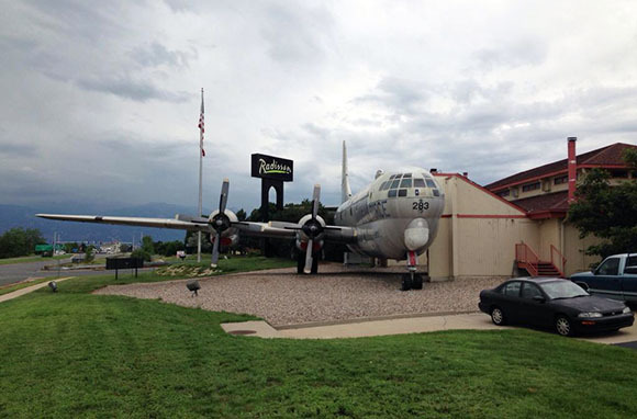 The Airplane Restaurant, Colorado Springs, Colorado