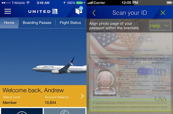 United Passport Feature