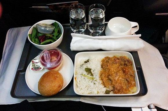 Qantas: Preordered Meals