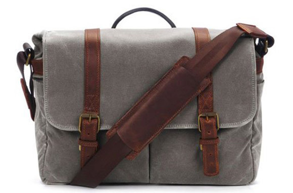 Brixton Camera/Laptop Messenger Bag