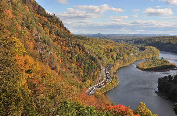 Fall: Delaware Water Gap National Recreation Area, New Jersey and Pennsylvania