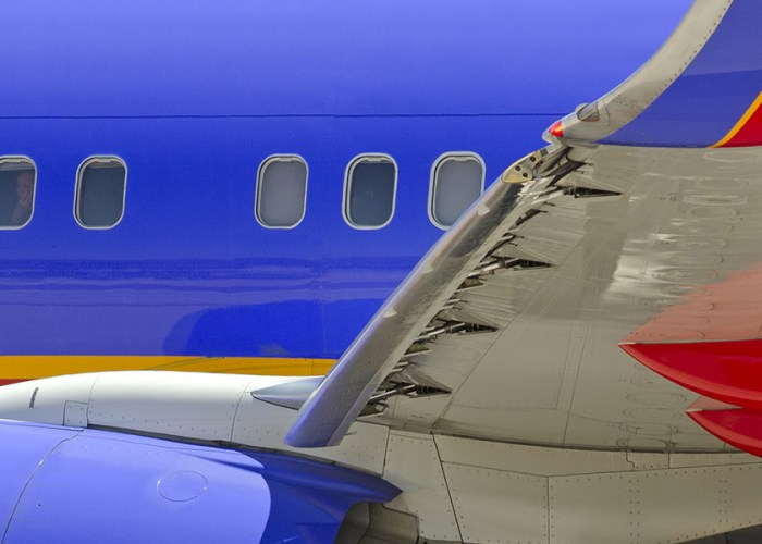 Southwest Airplane Windows Airfare Sale