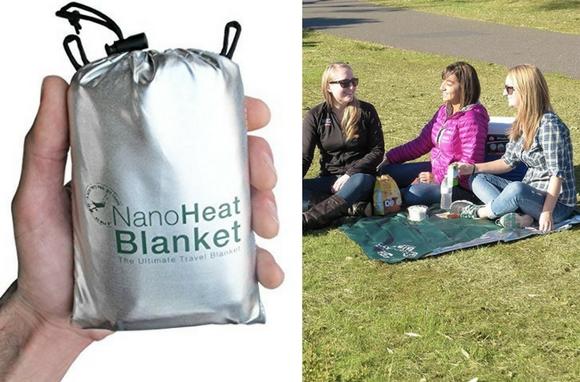 Adventure Medical Kits NanoHeat Blanket Snow Gear