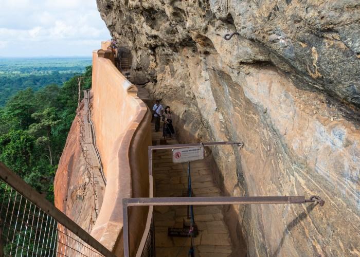 Sri Lanka Sigiriya mirror wall