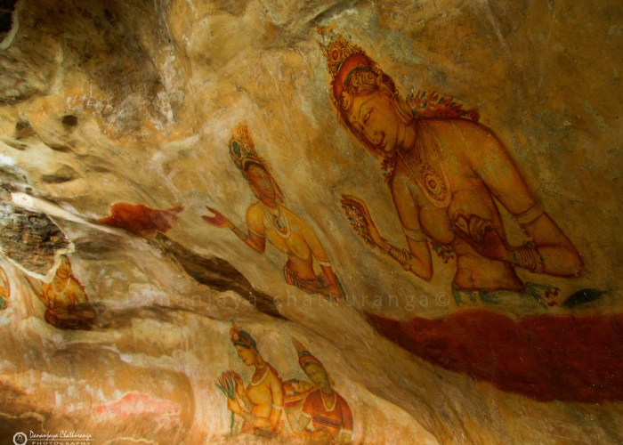 Sri Lanka Sigiriya paintings