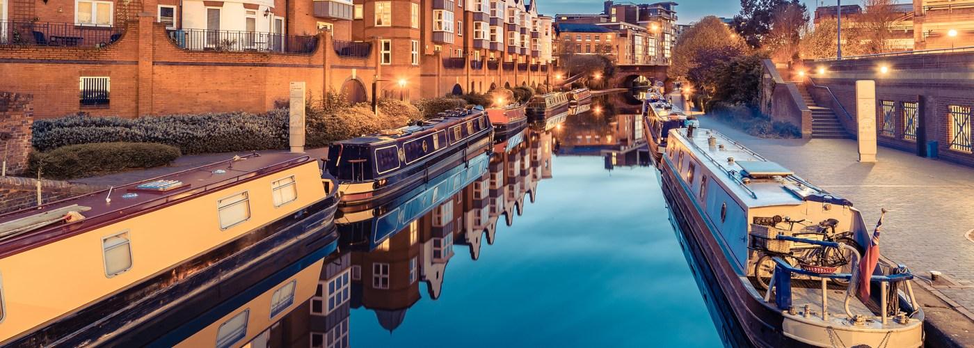 birmingham england canal.