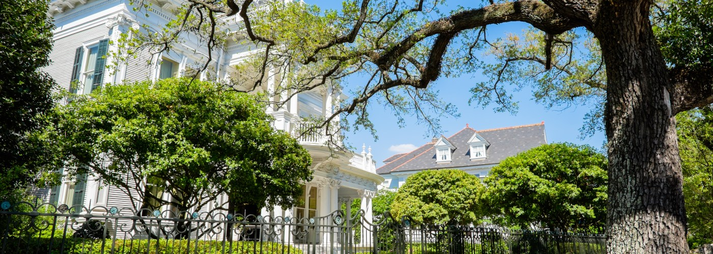 Historical homes in New Orleans