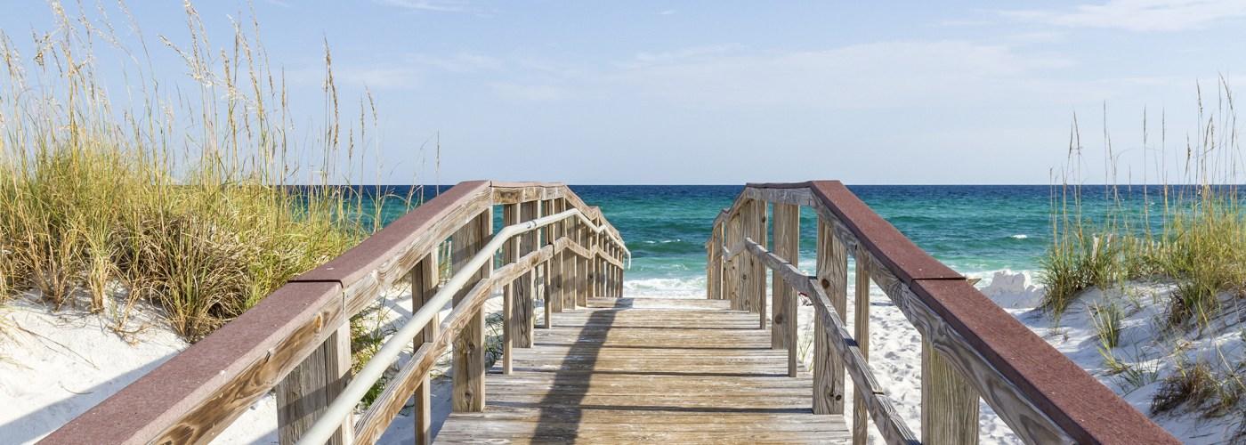 boardwalk to pensacola beach