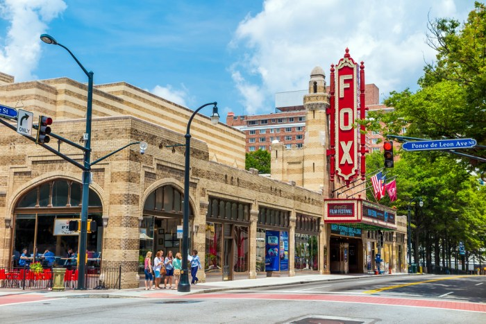 More from smartertravel: atlanta travel guide 10 best hotels in cheap airport fun things to do must-see attractions a visitor's neighborhoods the eats restaurants great spots try southern food what wear pack for atlanta