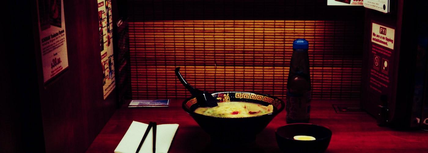 restaurant ramen soup