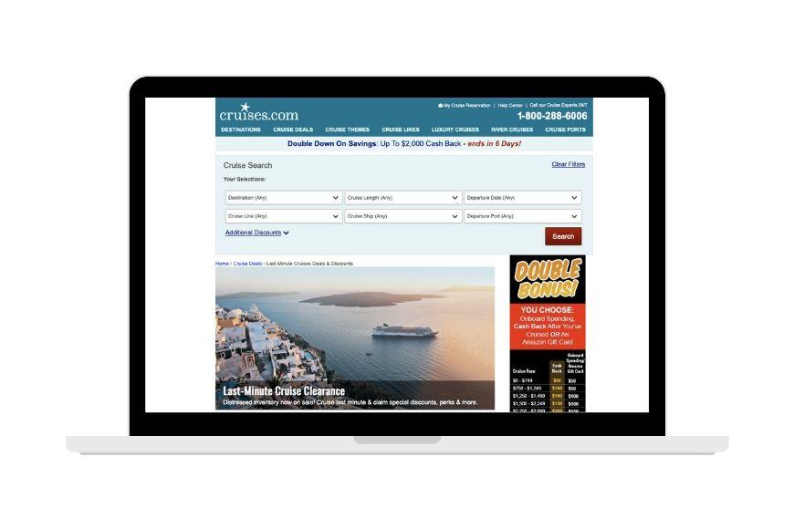 Cruise.com screenshot