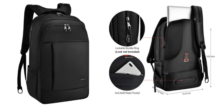 Kopack waterproof laptop backpack