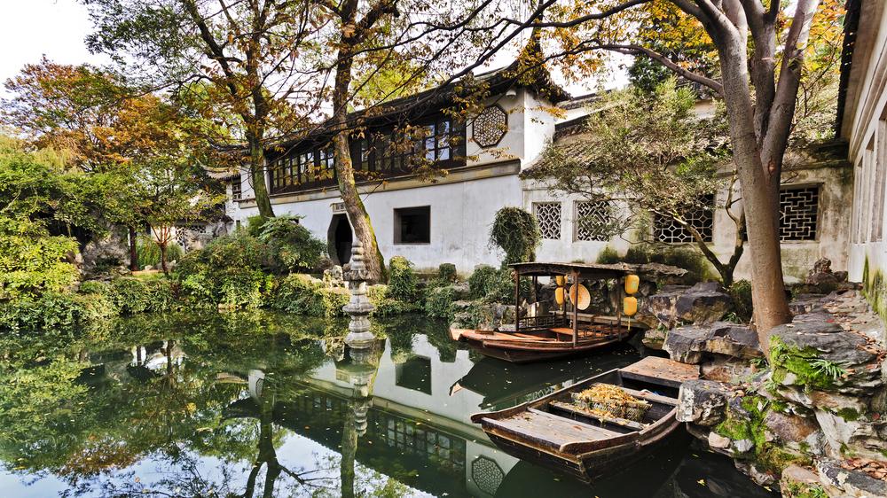 Suzhou, china classical garden.