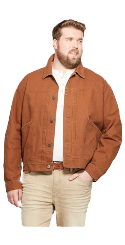 Mens burnt orange jacket