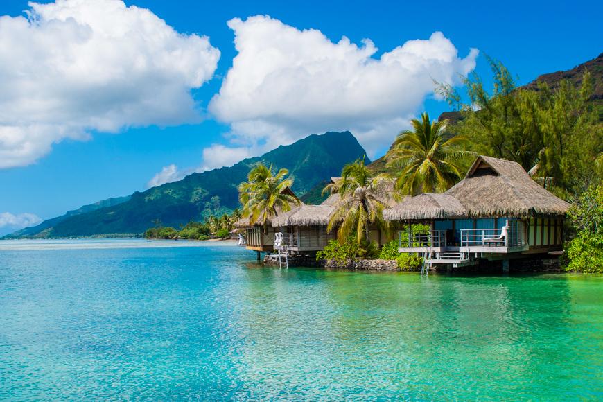 Tahita overwater bungalow