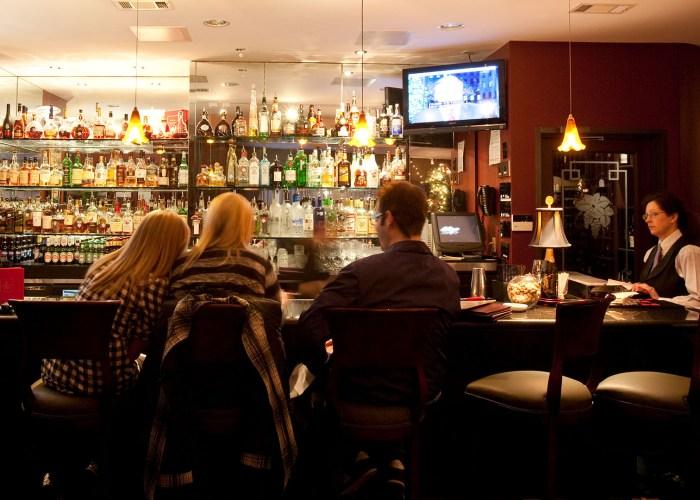bar at kirans restaurant houston.