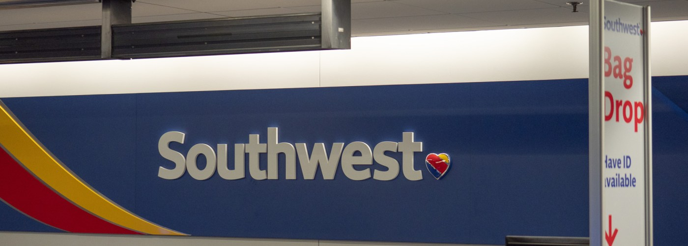 southwest airline counter.