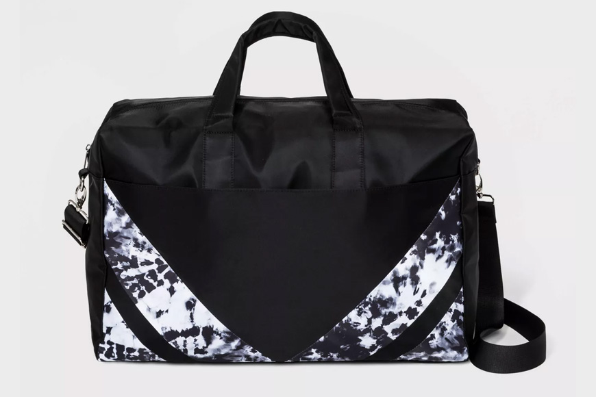 Wild fable patch work weekender bag