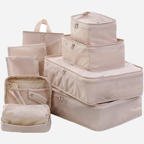 JJ POWER Toiletry Packing Cube Set
