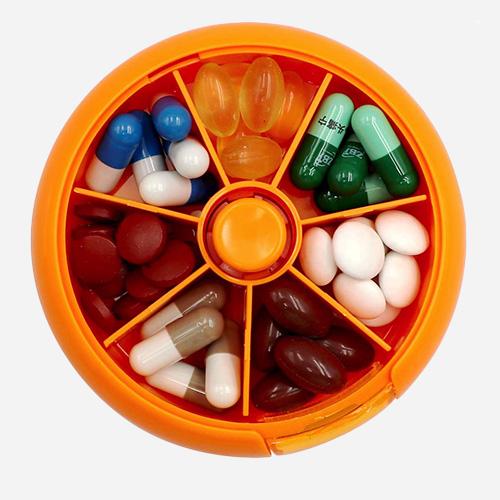 LazyMe Weekly Pill Box Set of 3