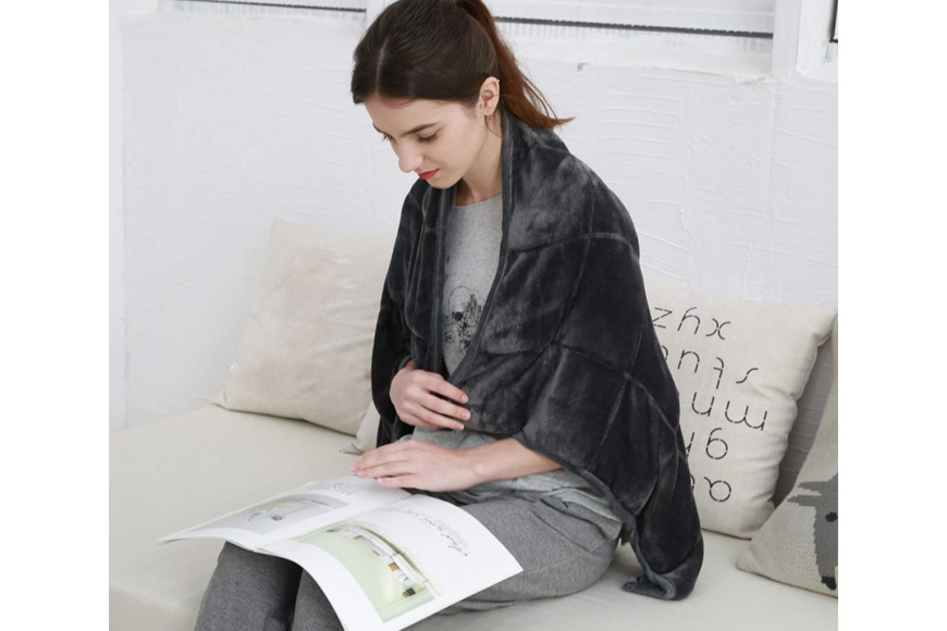 MAXTID weighted lap blanket