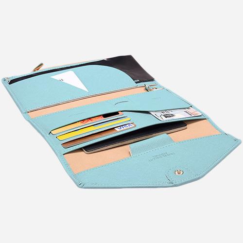 Multi-Purpose RFID-Blocking Travel Passport Wallet