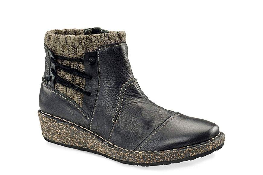 Aetrex Women's Tessa Short Sweater Boot.