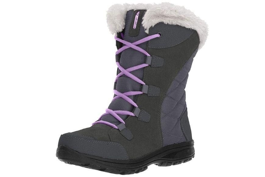Columbia women's ice maiden ii insulated snow boot.