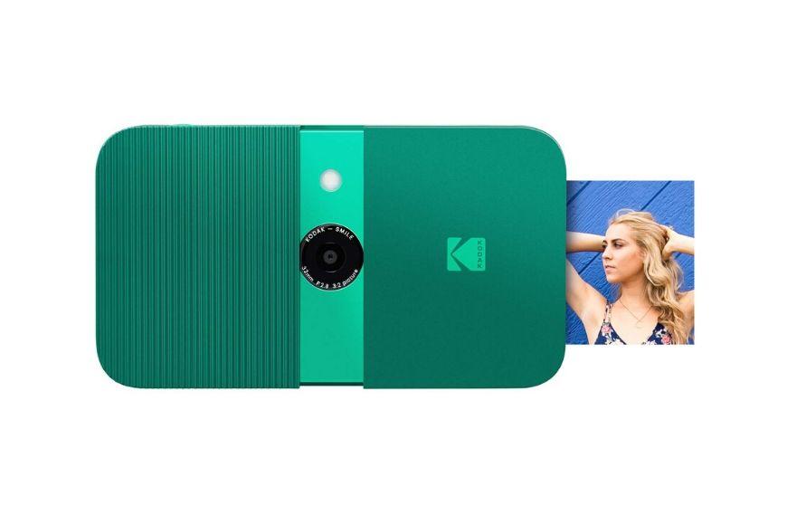 Kodak instant print digital camera green.