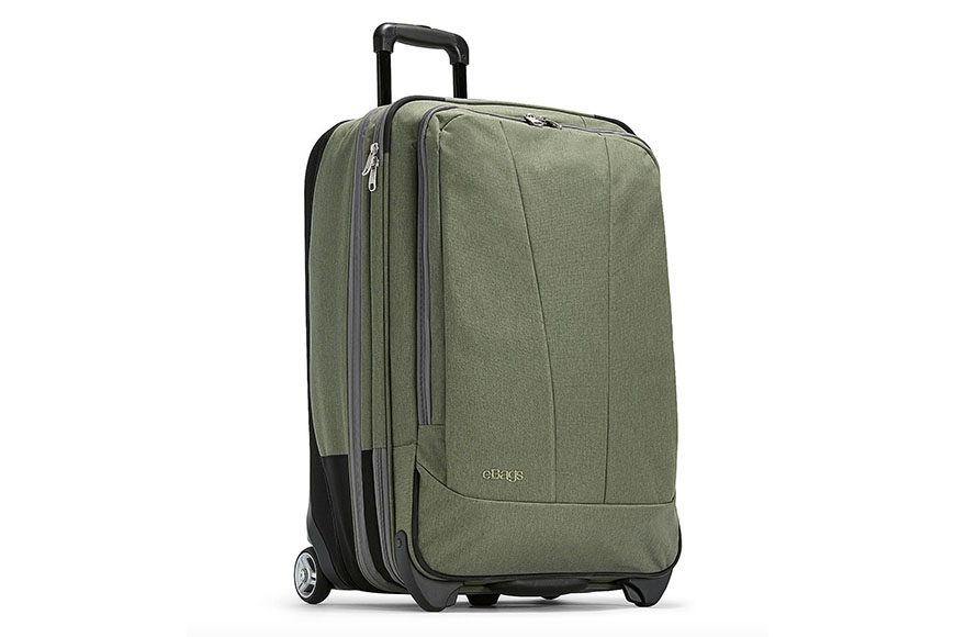 ebags tls 25 inch expandable upright suitcase.