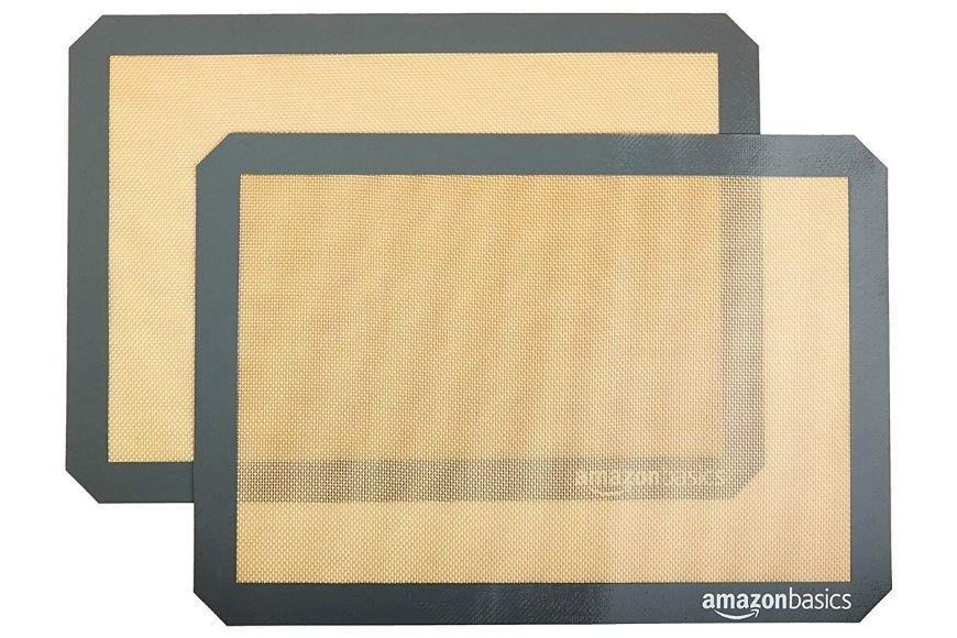 Amazonbasics silicone baking mats.