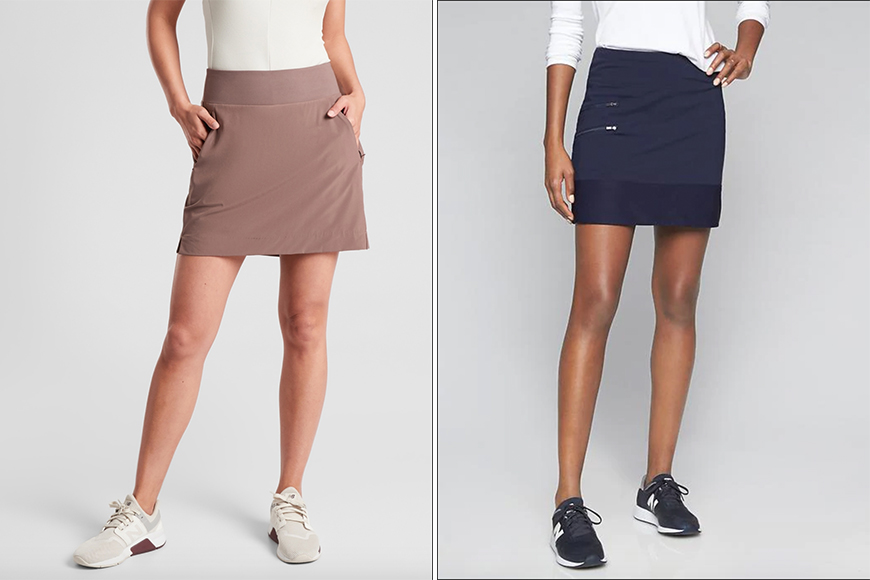 work from home outfit athleta skirts.