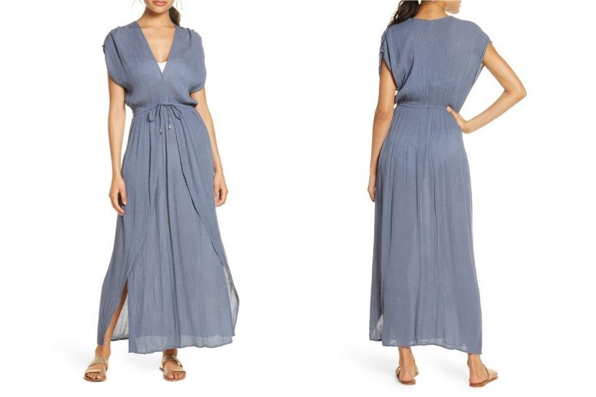 ELAN Maxi Cover-up Dress.