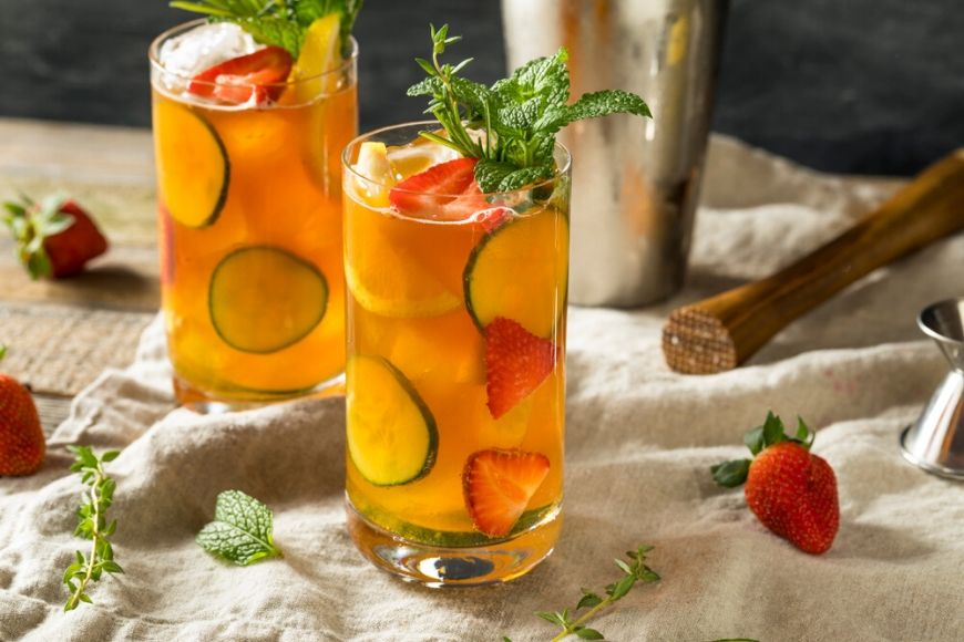 pimm's cup cocktail.