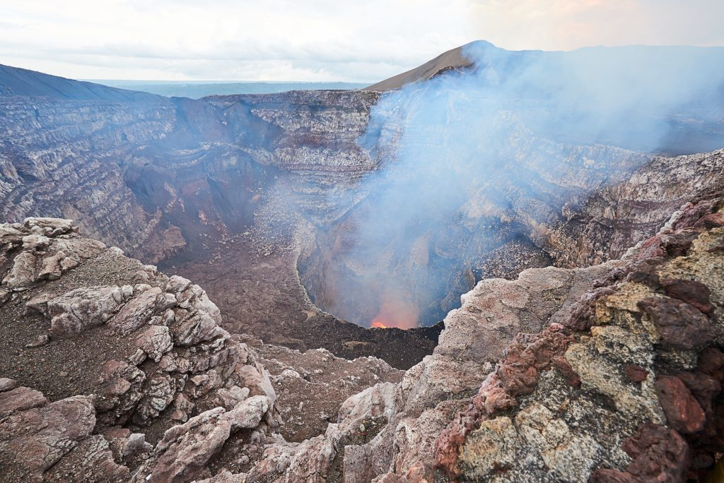 steamy crater