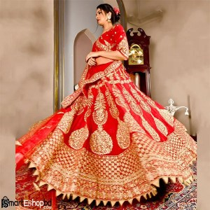 Red Bridal Lehenga and Ghagra Choli