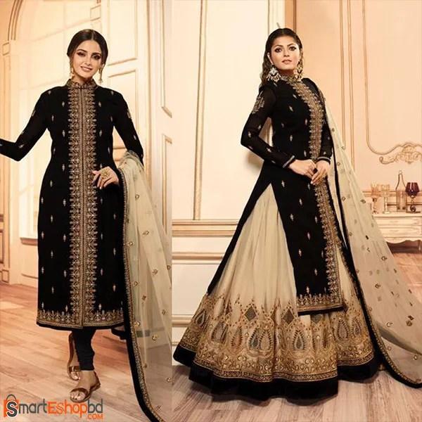 LT Present Nitya Vol 145 Georgette Indian Designer Dress