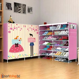 Creative Art 14 Layer Shoe Cabinet