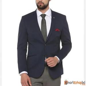 Double Button Slim Fit Blazer for Men