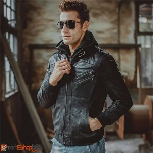 Biker Top Model Genuine Leather Jacket
