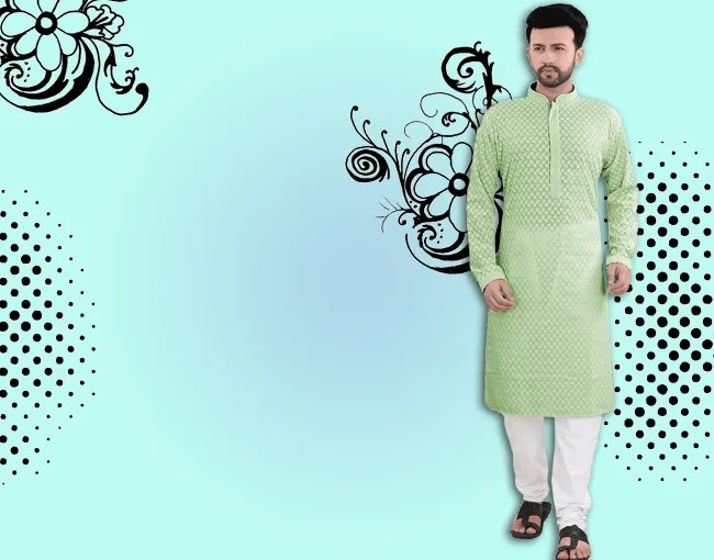Men's fashionable panjabi collection