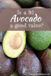 $1 Avocado a good value