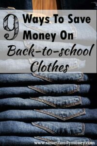 These are great tips! I spent a lot less on my kids' back to school clothes this year because I followed these ideas.