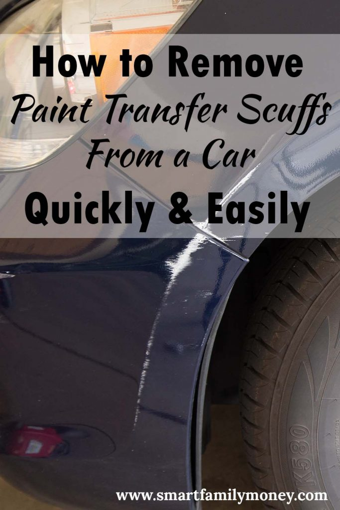 How to Remove Paint Transfer Scuffs from a Car Quickly & Easily
